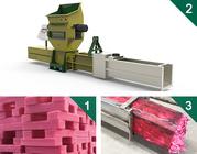 Styrofoam compactors of GREENMAX ZEUS SERIES